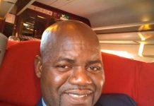 Monsieur Maurice Wilfried Sebiro, Conseiller en communication du chef de l'État Faustin Archange Touadera lors de son anniversaire le 22 septembre 2019.
