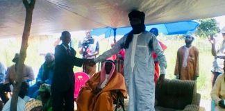 Lors de la signature d'entente entre les miliciens Anti-Balaka et le chef de 3R Abas Sidiki à Koui. CopyrightCNC.