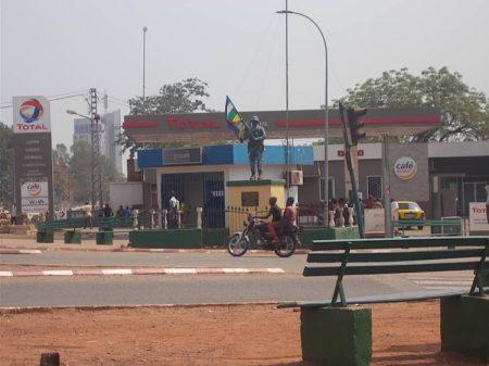 Station Total du quatrième arrondissement de Bangui pour illustration. Crédit photo : Mickael Kossi / CopyrightCNC.
