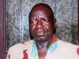 Le Président de l'Assemblée nationale Laurent Gon-Baba