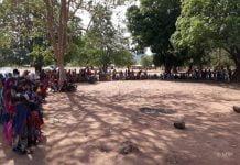 vaccination d'urgence par le msf à Vakaga en 2019