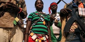 Les miliciens Anti-Balaka. CopyrightDR