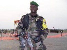 le Commandant de la gendarmerie Olivier Koudemon alias Gbangouma, alors officier de sécurité de l'ancien Président François Bozizé.