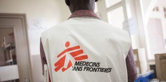 Un agent de l'ONG Médecin Sans Frontière.