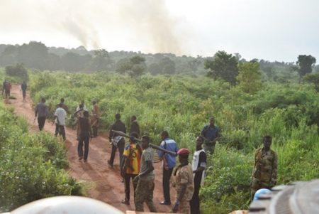 Les combattants rebelles de la Seleka. CopyrightDR