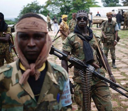 DeDes combattants rebelles de la Seleka. CopyrightDR