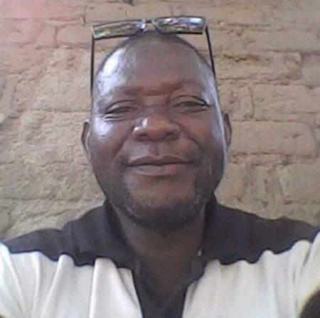 Chef du quartier Pikata, Mr Mbarta Philippe. Crédit photo : Corbeaunes-Centrafrique (CNC)