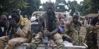 Des combattants rebelles de l'ex-coalition Seleka. CopyrightDR.