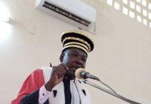 Eric Didier Tambo - Procureur Général près la Cour d'Appel de Bangui - crédit photo cédric gwa gomba le 20 janvier 2020