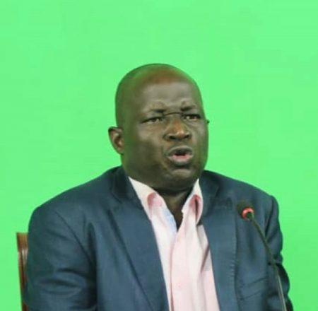 Zama Javon Papa, coordinateur du Mouvement Centrafrique debout (MCD)