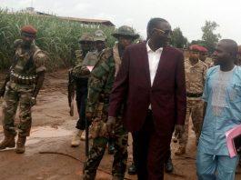 arrivée du chef rebelle Ali Darassa à Ngakobo le 21 août 2019 avec ses nombreux gardes du corps par bertrand yékoua du cnc