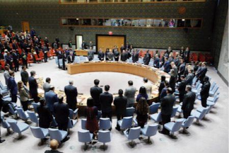 le conseil de sécurité des nations unies à New-York en septembre 2018.