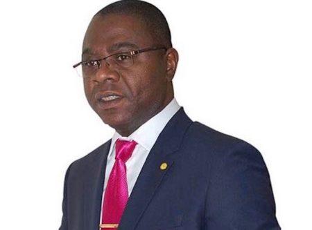 Le ministre centrafricain des finances Henri-Mari DONDRA