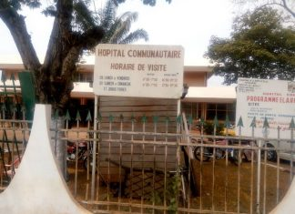 Hôpital communautaire de Bangui. Crédit photo : Mickael Kossi / CNC