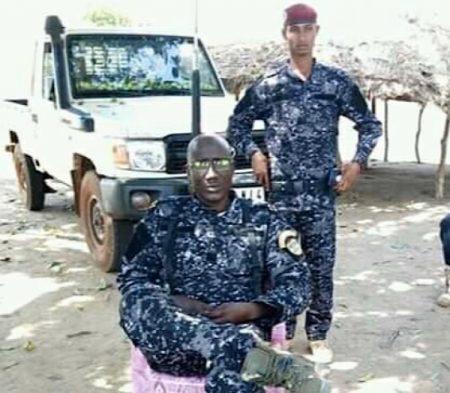 Le Chef rebelle Ali Darassa présente ses voeux à la nation centrafricaine le premier janvier 2020. Crédit photo : UPCet son garde du corps