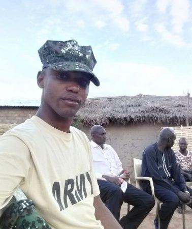 le colonel Douha Mahamat de l'UPC tué dans le combat du jeudi 9 janvier à Alindao - Photo de courtoisie.