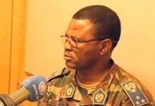 Le général burkinabé Sidiki Traoré. CopyrightDR
