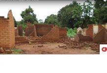 maisons detruite à bria par banafio