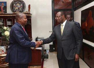 Anicet Georges Dologuele - le chef de file de l'opposition démocratique - reçut par Touadera le 28 janvier à la Présidence de la République
