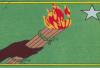 logo du parti démocratique centrafricain (PDCA) de jean serge Wafio
