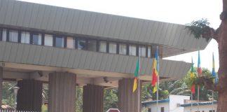 Immeuble de la Banque des États de l'Afrique centrale (BEAC) à Bangui. Photo CNC / Fortuné Bobérang.