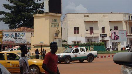 Le centre-ville de Bangui, le 18 août 2019. Photo CNC / Mickael Kossi.