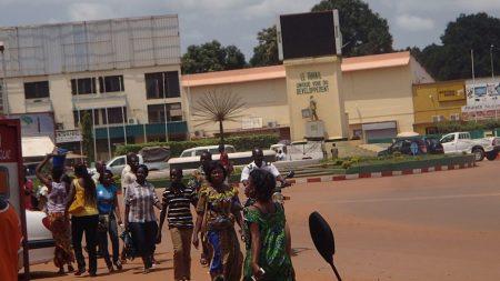 Centre-ville de Bangui, capitale de la Centrafrique. CopyrightCNC