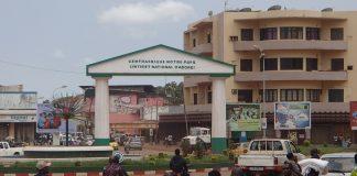 Entrée centre-ville de Bangui. Photo CNC / Fortuné Bobérang.