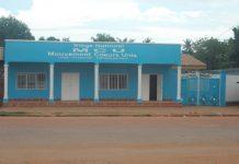 siège national au quartier malimaka du parti MCU de touadera filmé le 18 juillet par micka
