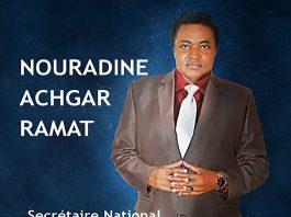 Achgar Nouradine RAMAT sécrétaire aux relations extérieures du parti CNCA PDDA bon pour tout