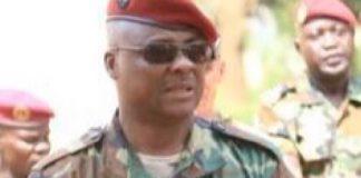 L'ex-chef d'État major des FACA, le général Ludovic Ngaïféi.
