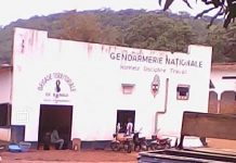 Brigade territoriale de la gendarmerie de Bangui, le 6 août 2019. Photo CNC / Mickael Kossi.