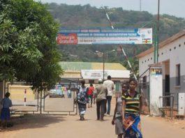 Centre hospitalier universitaire de Bangui, le 11 mars 2019. Photo CNC / Fortuné Boberang.