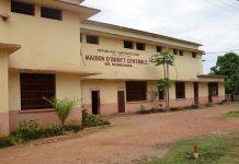 La prison de Ngaragba, à Bangui, le 5 avril 2013 par AFP