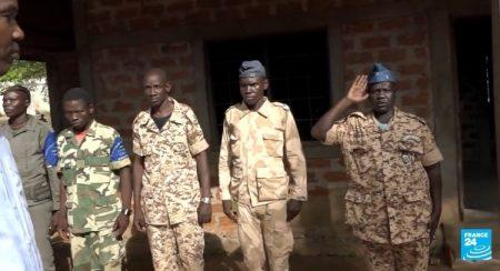 Les combattants rebelles du FPRC à Ndélé le 11 aout 2017. Photo CNC. CopyrightCNC.