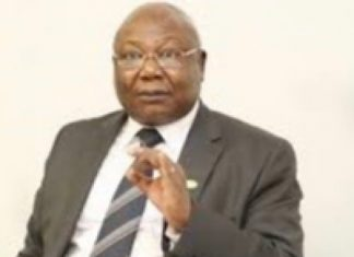 L'honorable de Bocaranga 3 Martin Ziguelé, Président du parti MLPC, investi candidat à la prochaine présidentielle de 2020. Photo de courtoisie.