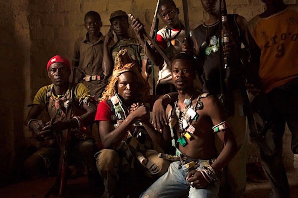 Image d'illustration des miliciens Anti-Balaka en République centrafricaine. CopyrightDR