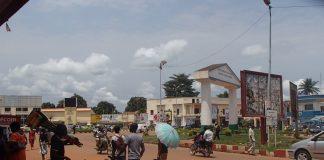 Circulation à Bangui, capitale de la République centrafricaine, le 10 février 2020. Photo CNC / Michael Kossi.