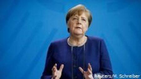 Anguela Merkel, la chancellière allemande.