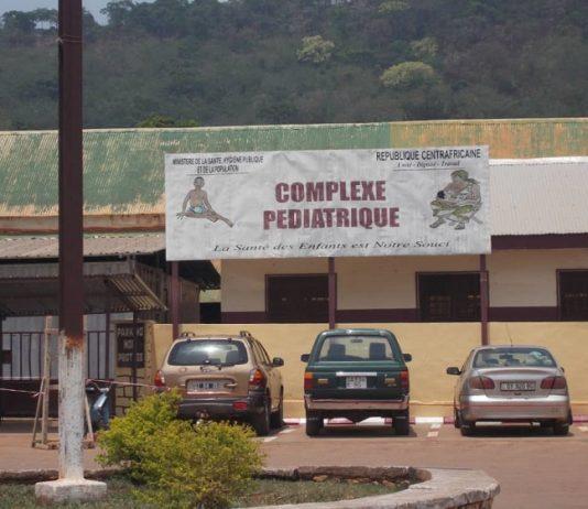 Hôpital pédiatrique de Bangui. Photo CNC / Mickael Kossi
