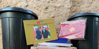 kits d'hygiène de lutte contre la pandémie de coronavirus remis par l'ambassade de chine à bangui à la rédaction du CNC