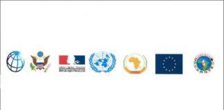Logo du groupe des parténaires de la République centrafricaine (G5)