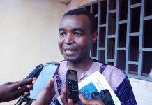 Abbé Rodriguez Koydema, l'auteur du livre « Coronavirus en Centrafrique, panique et réalisme »