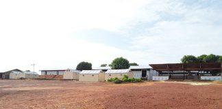 Base du HCR au village Cantonnier, dans la localité de Baboua, situé à 7 kilomètres de Béloko, au nord-ouest de la République centrafricaine. Photo CNC / Gervais Lenga.