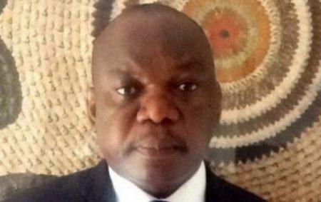 Monsieur Anicet Parfait Mbaye, l'ancien ministre d'État.