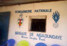 brigade de la gendarmerie de Ngaoundaye par cnc le 25 mars 2020