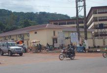 Centre hospitalier et universitaire de Bangui, le 15 mai 2020. Photo CNC / Fortuné Bobérang.
