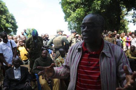 déplacement d'une délégation officielle à Lemouna et Koundili le 25 mai 2019 photo minusca