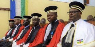 les magistrats de la cour pénale spéciale à Bangui