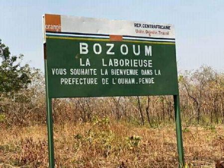 Biendenue à Bozoum